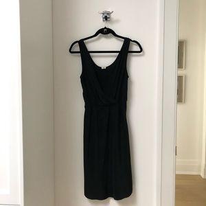 Aritzia Wilfred Black 100% Silk Dress. Size XXS.
